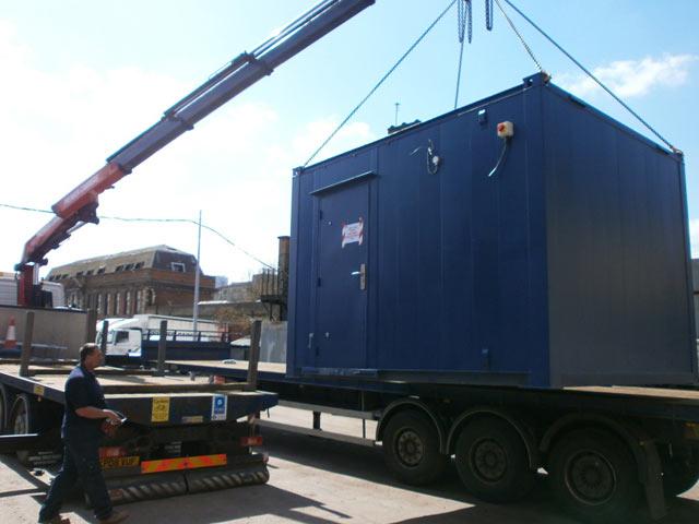 Crane Lorry hire